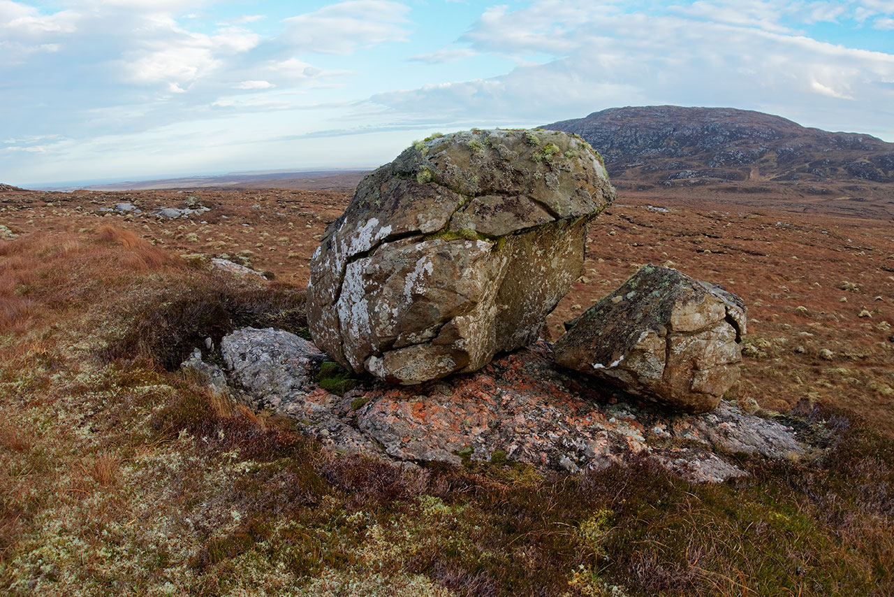Glacial Erratic on the Isle of Lewis
