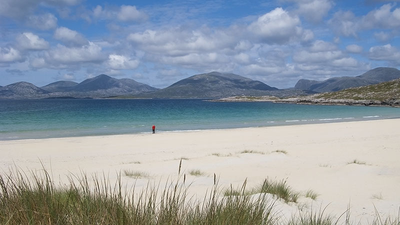 Luskintyre Beach in the Outer Hebrides