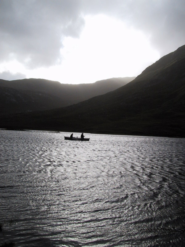 Salmon fishing in the Hebrides
